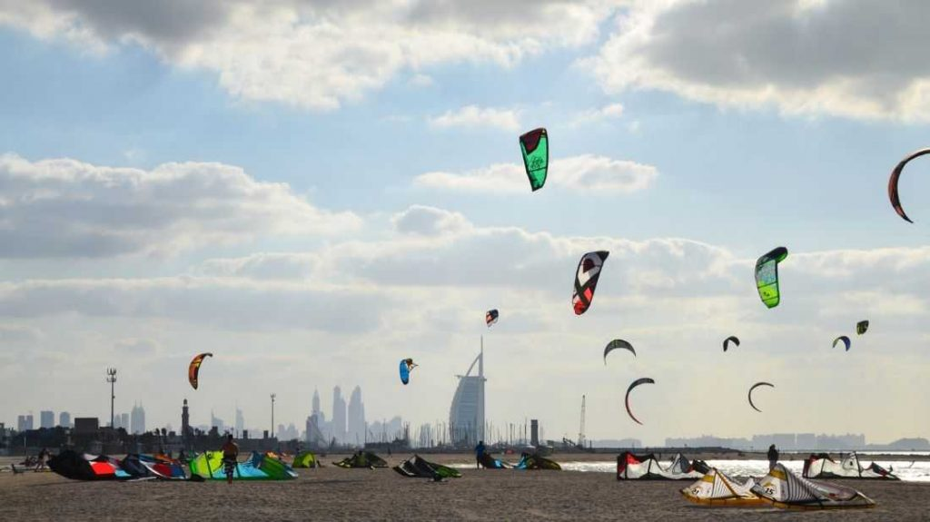 Kite-Beach-Tourist-Attractions-In-UAE