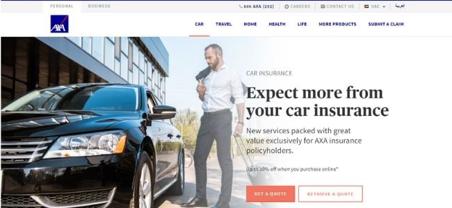 Axa-Best-Car-Insurance-Companies-In-Dubai